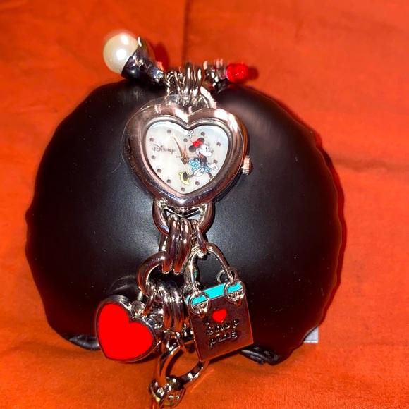 Minnie Watch with Charms